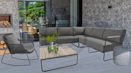 4 seasons outdoor coast loungeset