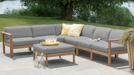 4seasons outdoor lido loungegruppe teak