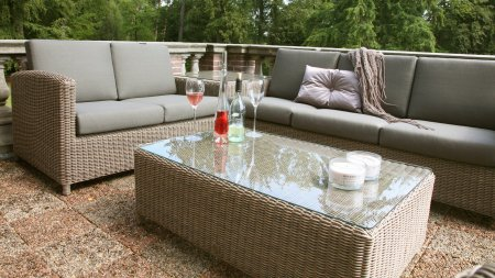 4 seasons outdoor lodge Eck loungeset pure