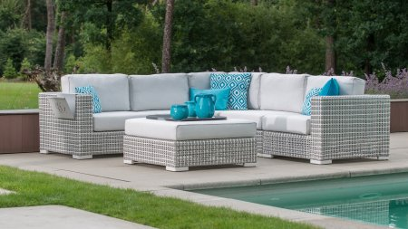 4 seasons outdoor madras loungeset