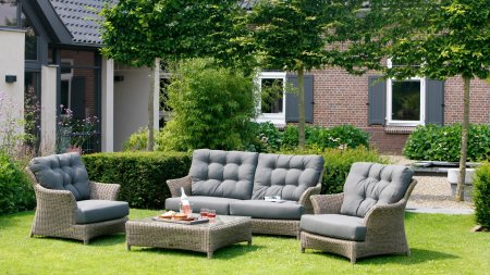 4 seasons outdoor valentine loungegruppe pure