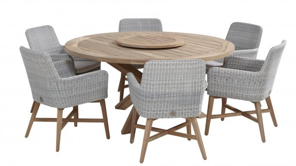 4 Seasons Outdoor lisboa Essset teak ice