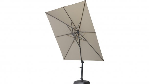 4 Seasons Outdoor Siesta Ampelschirm Anthrazit/Taupe