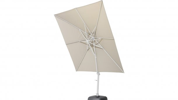 4 Seasons Outdoor Siesta Hangparasol White/Taupe