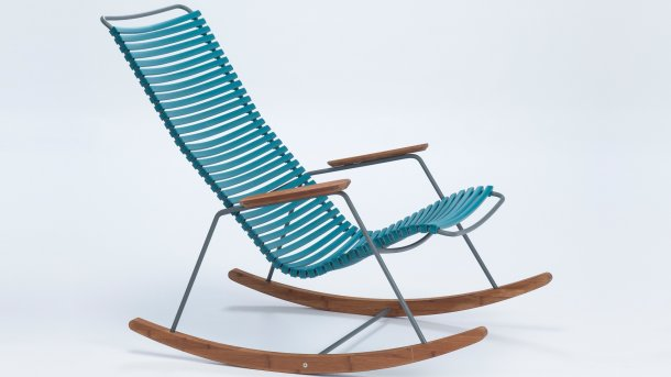 houe click rocking chair petrol