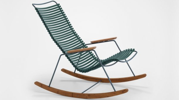 houe click rocking chair pine green
