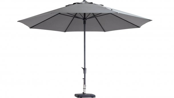 madison parasol timor 400cm light grey