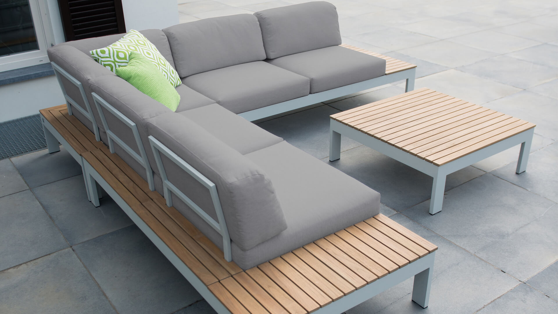 4 Seasons Outdoor Mistral Loungegruppe Alu ...